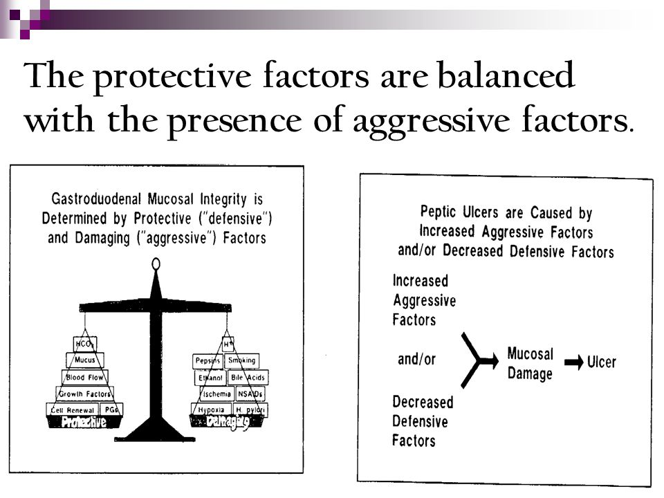 The protective factors are balanced with the presence of aggressive factors.