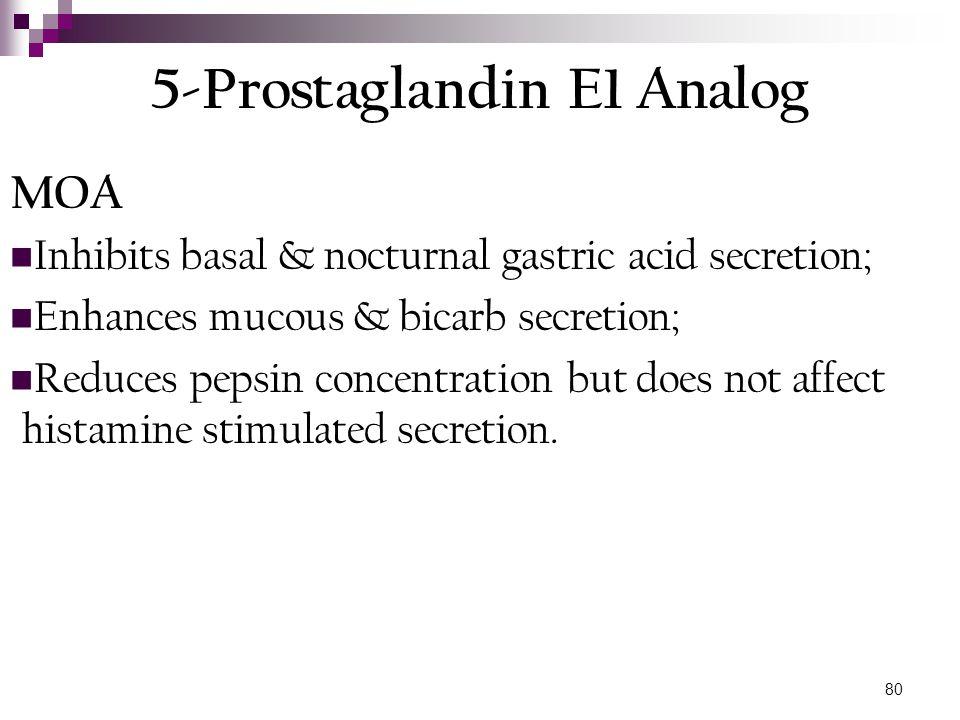 5-Prostaglandin E1 Analog