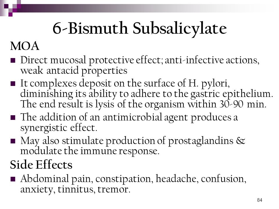 6-Bismuth Subsalicylate