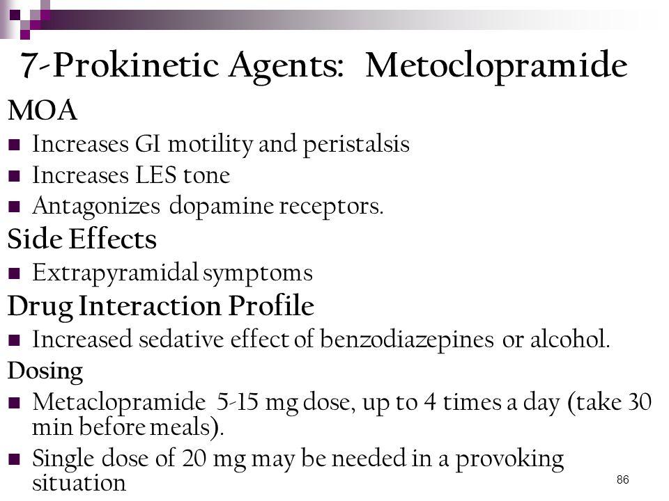 7-Prokinetic Agents: Metoclopramide