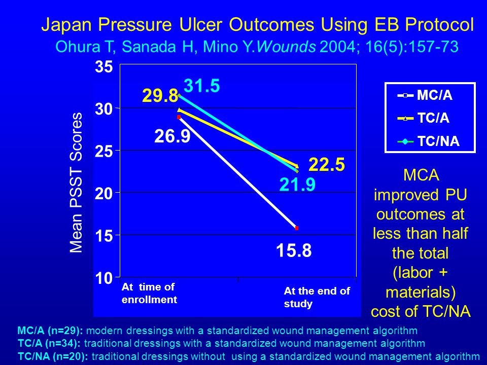 Japan Pressure Ulcer Outcomes Using EB Protocol