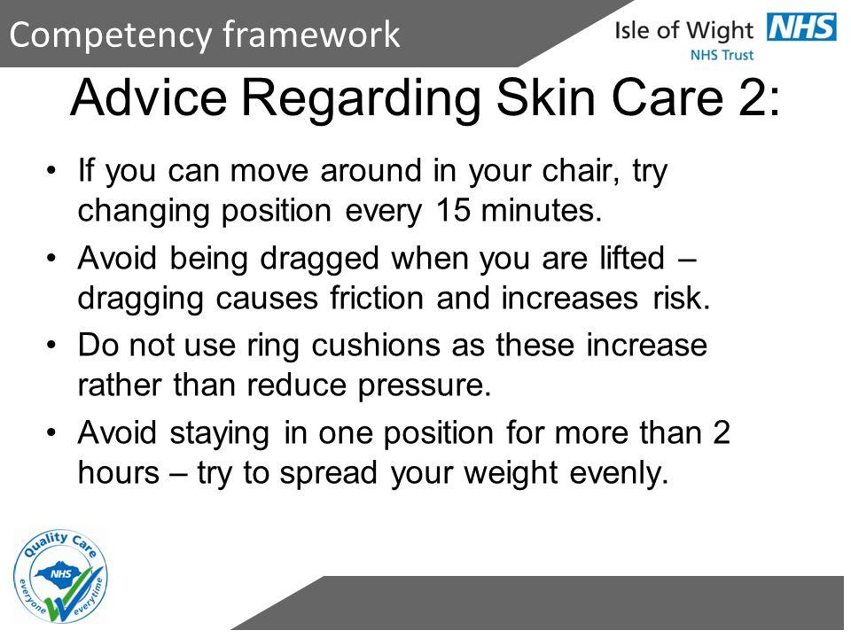Advice Regarding Skin Care 2: