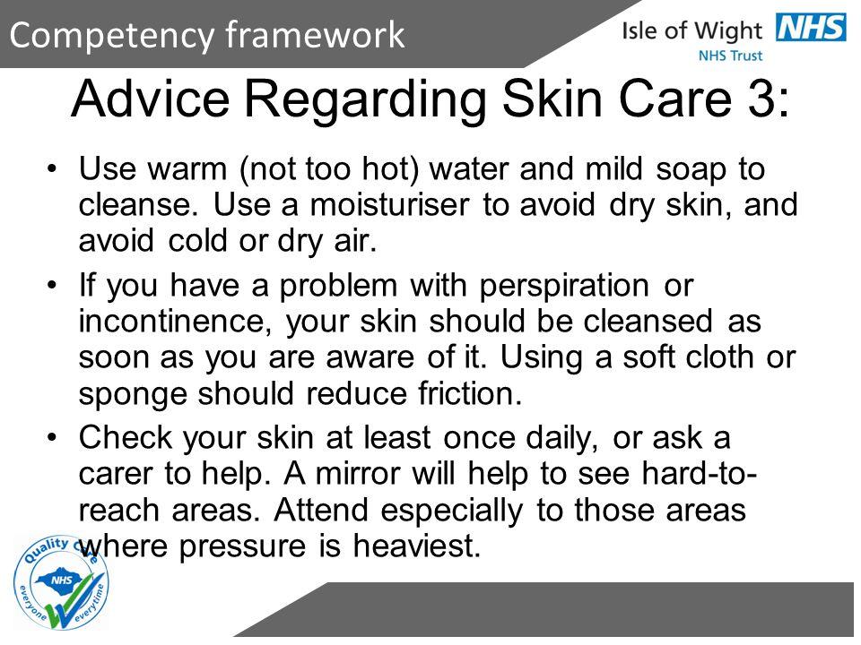 Advice Regarding Skin Care 3: