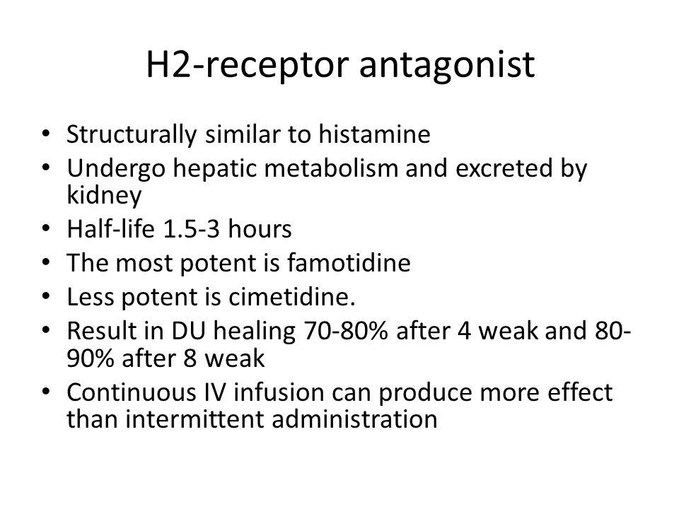 H2-receptor antagonist