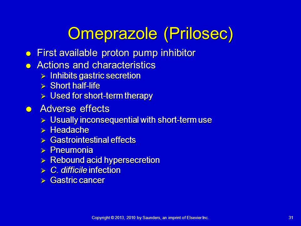 Omeprazole (Prilosec)