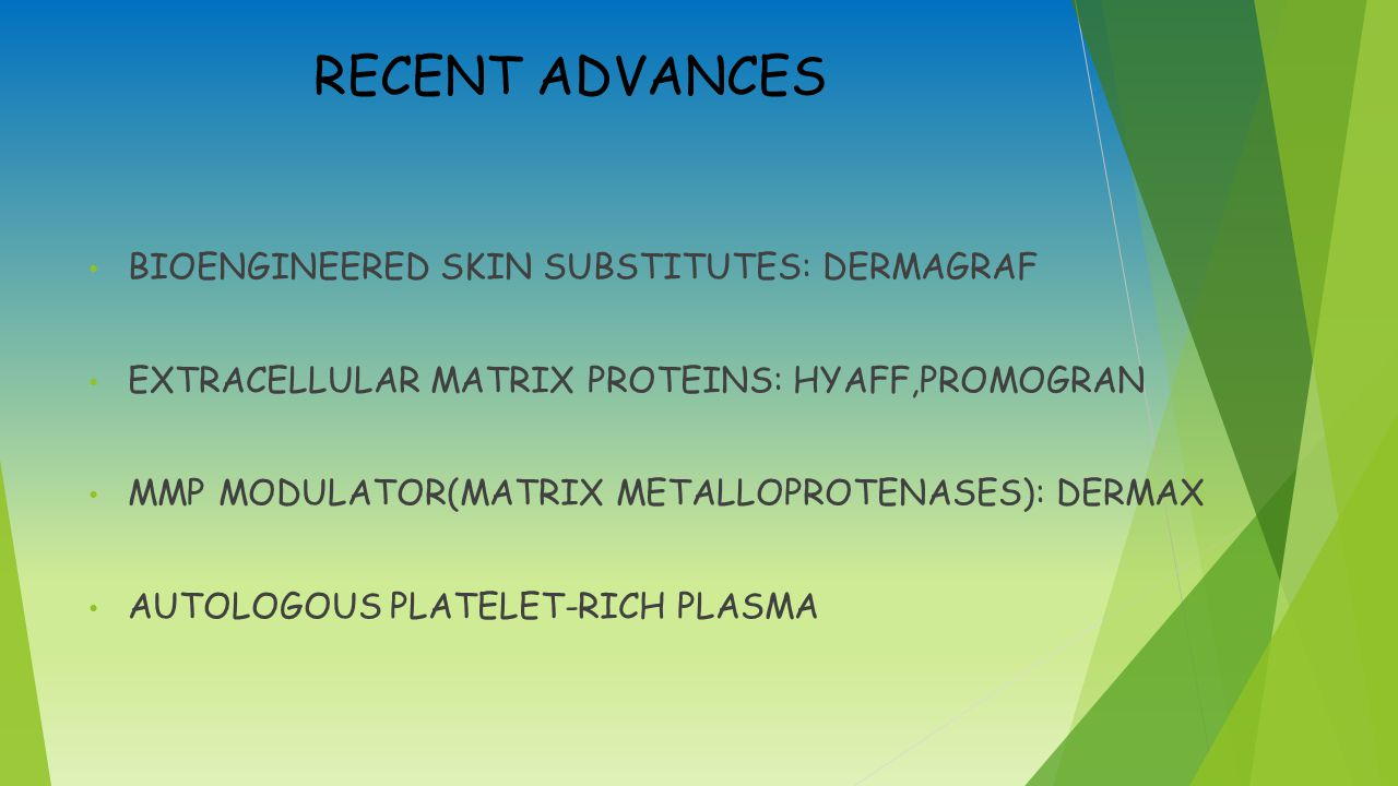 RECENT ADVANCES BIOENGINEERED SKIN SUBSTITUTES: DERMAGRAF