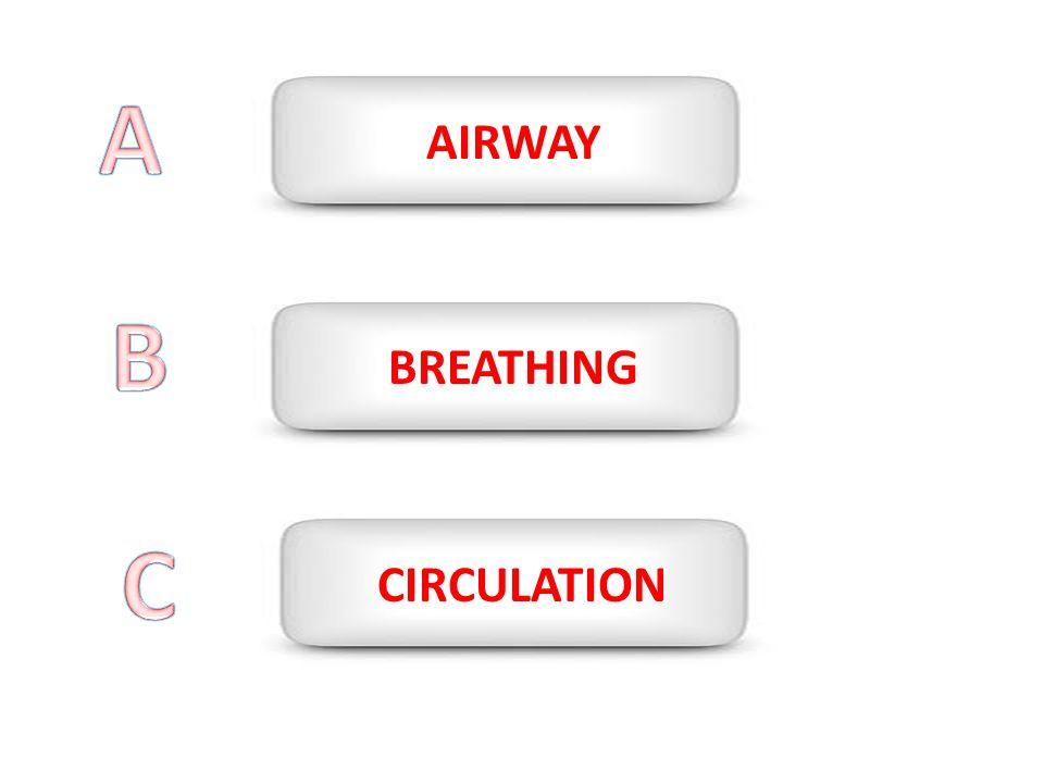A AIRWAY B BREATHING C CIRCULATION