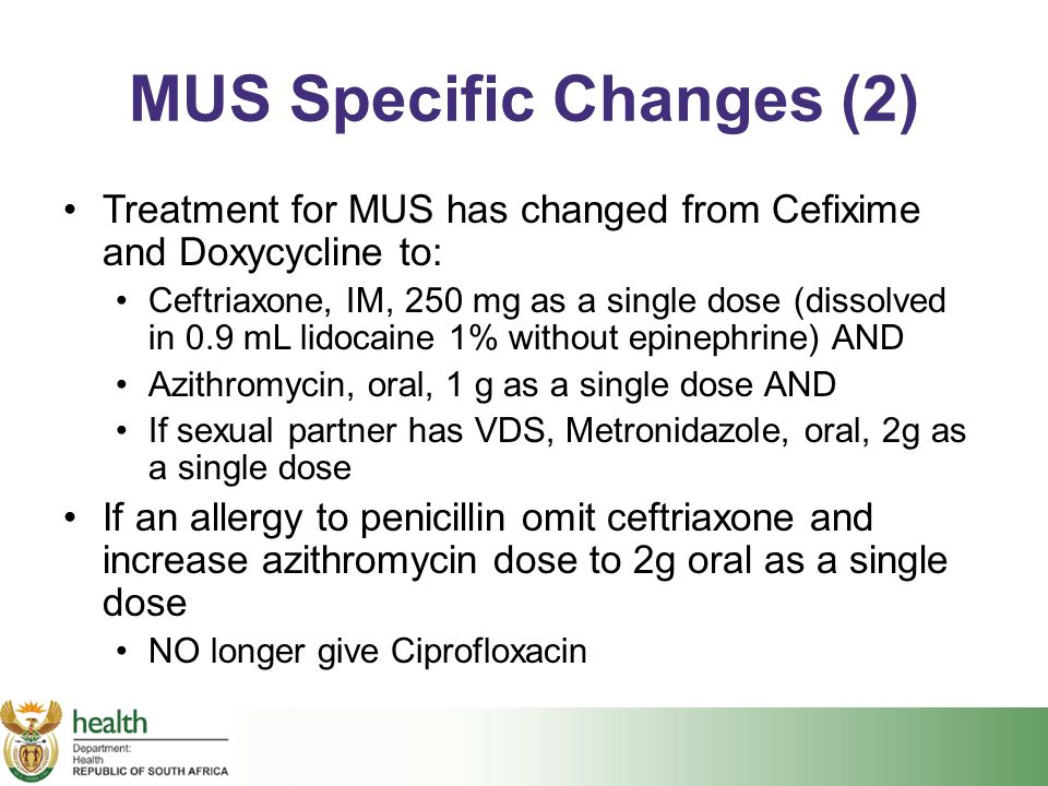 MUS Specific Changes (2)