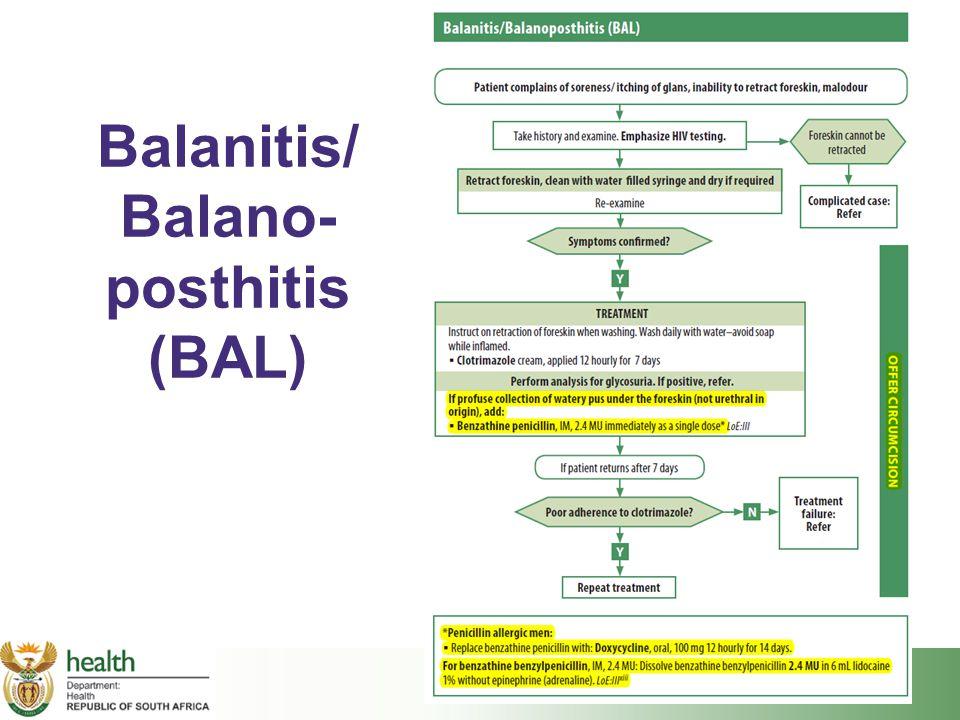 Balanitis/ Balano-posthitis (BAL)