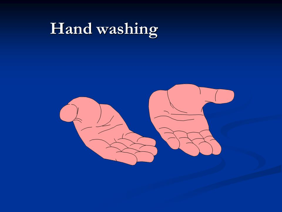 Hand washing What role does handwashing play in nosocomial pneumonias