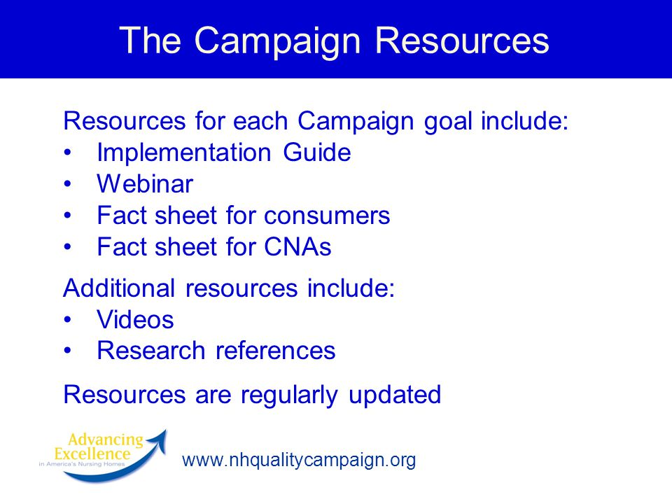 The Campaign Resources
