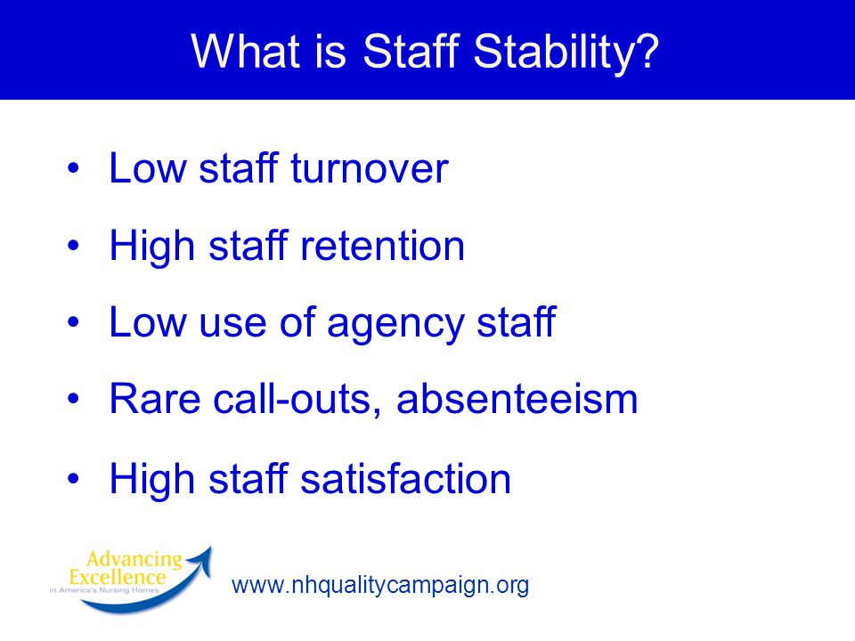 What is Staff Stability