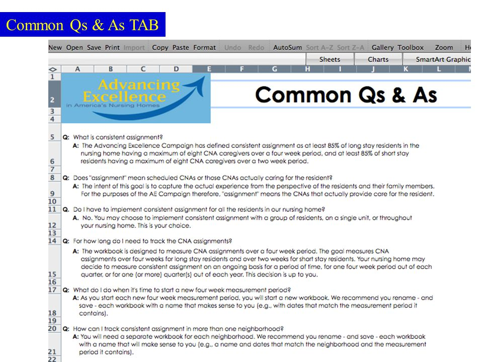 Common Qs & As TAB