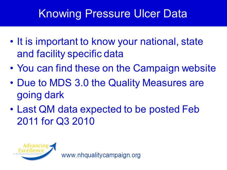 Knowing Pressure Ulcer Data