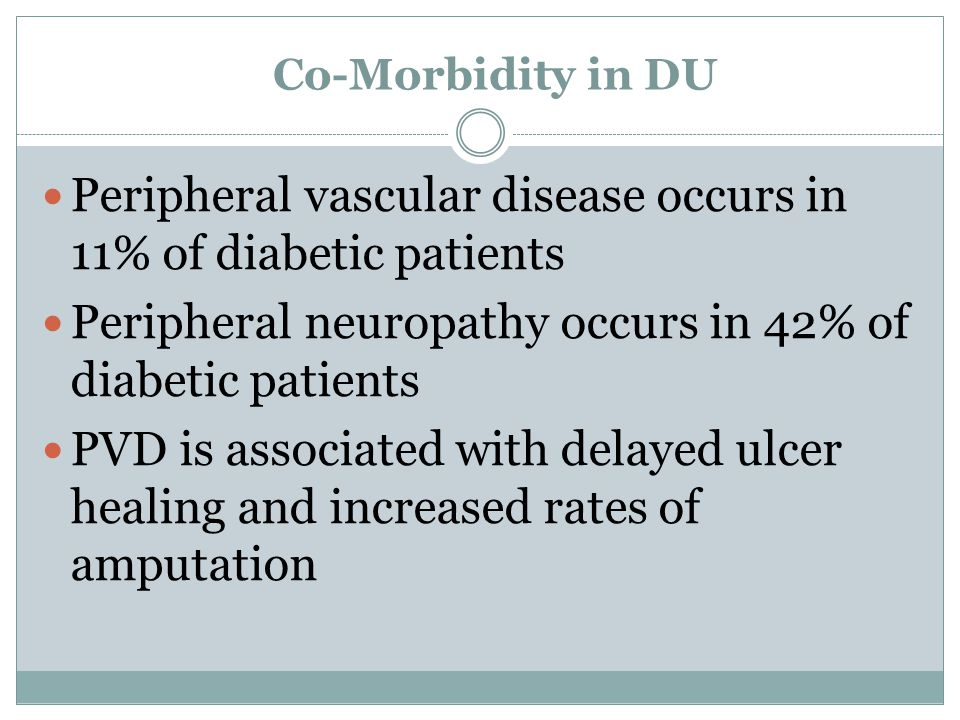 Peripheral vascular disease occurs in 11% of diabetic patients