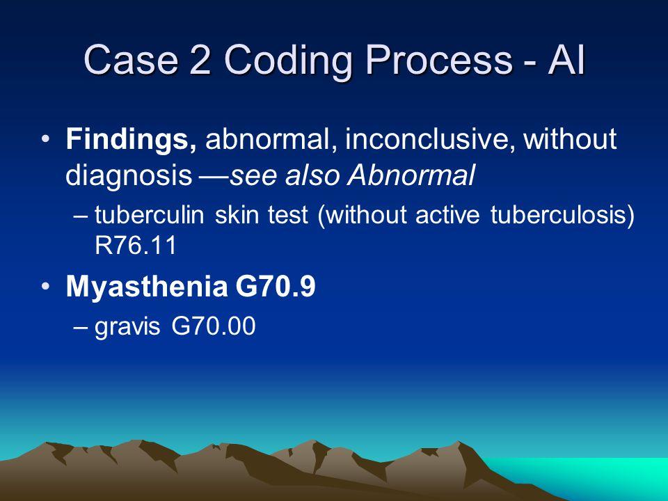Case 2 Coding Process - AI