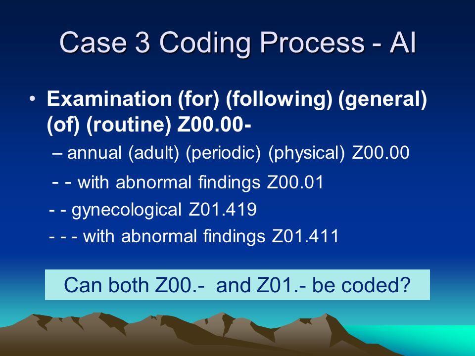 Case 3 Coding Process - AI