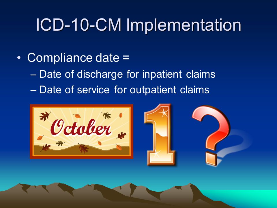 ICD-10-CM Implementation