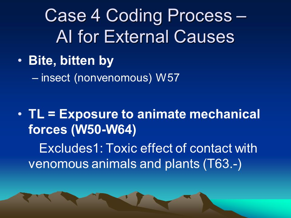 Case 4 Coding Process – AI for External Causes