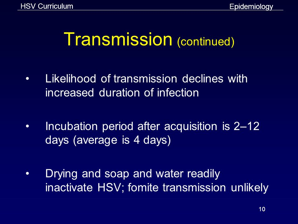 Transmission (continued)
