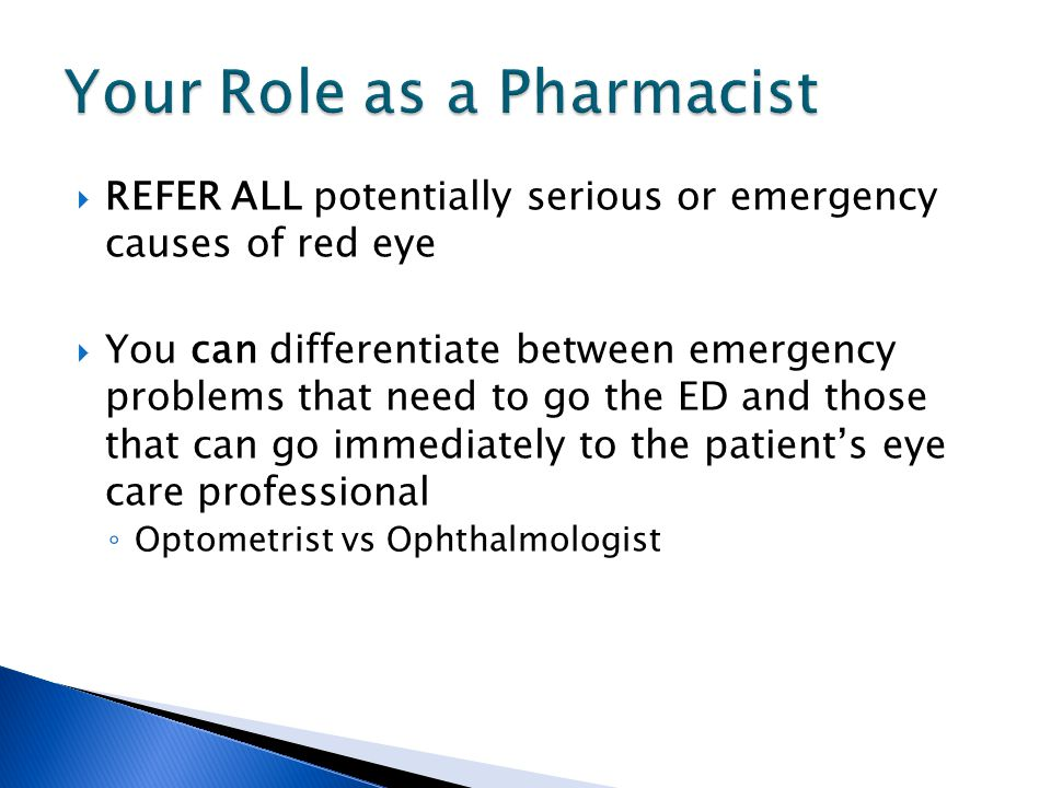 Your Role as a Pharmacist