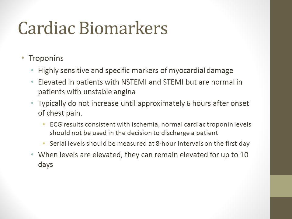 Cardiac Biomarkers Troponins