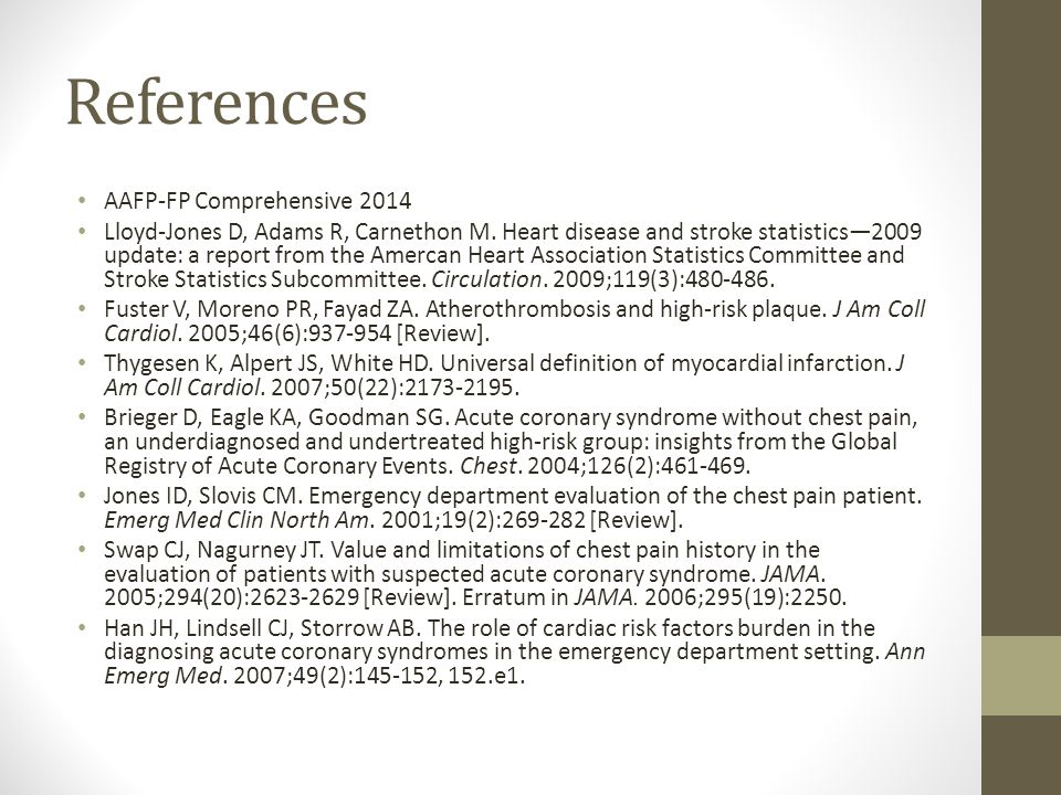 References AAFP-FP Comprehensive 2014