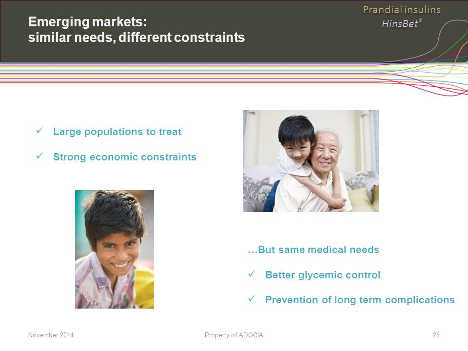 Emerging markets: similar needs, different constraints