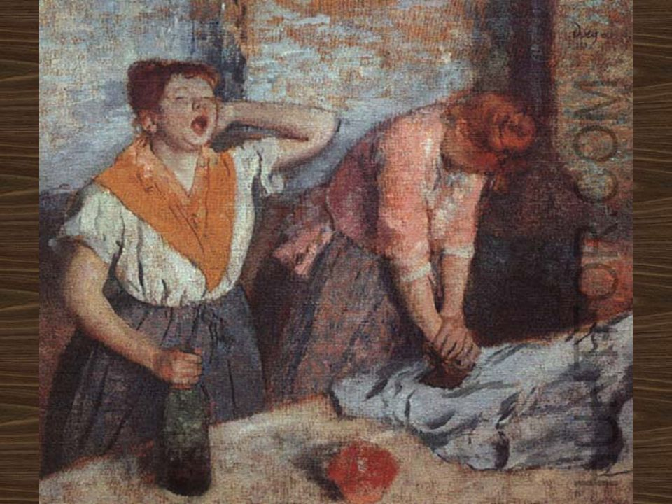 Edgar Degas Women Ironing