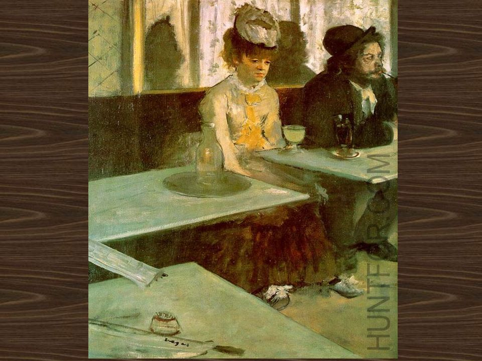 In a Cafe (The Absinthe Drinker) Edgar Degas