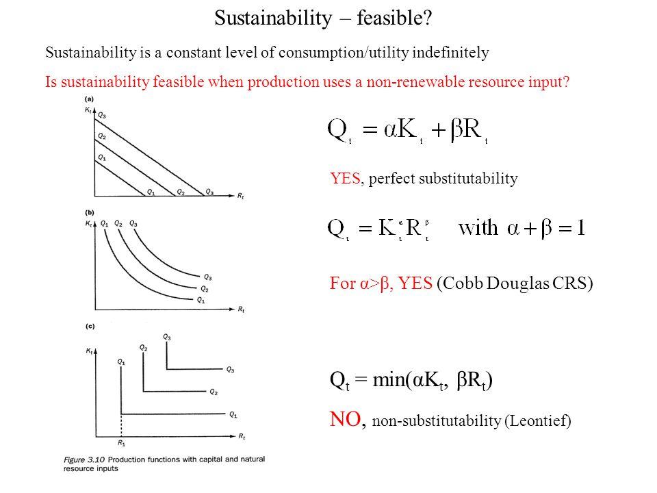 Sustainability – feasible