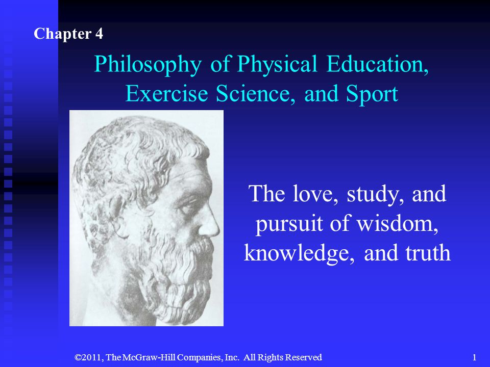 Philosophy of Physical Education, Exercise Science, and Sport