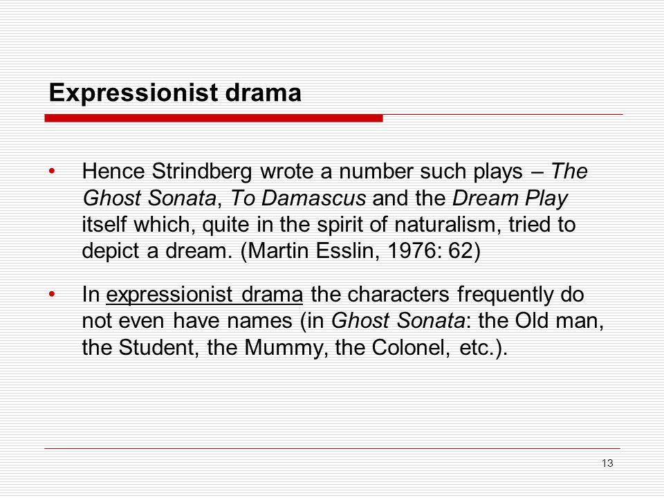 Expressionist drama