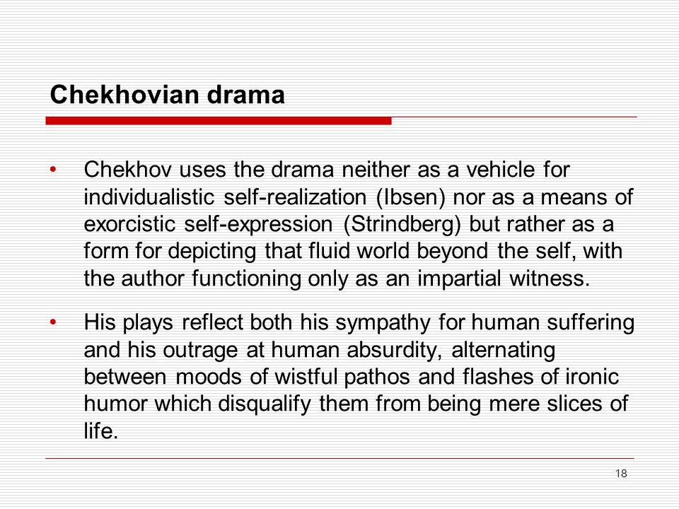 Chekhovian drama