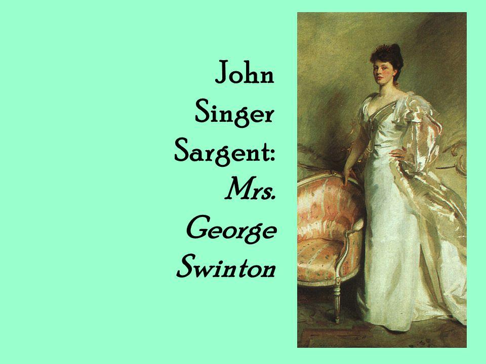 John Singer Sargent: Mrs. George Swinton