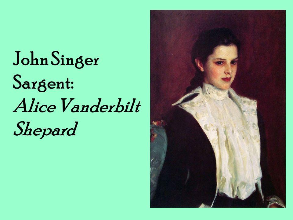 John Singer Sargent: Alice Vanderbilt Shepard