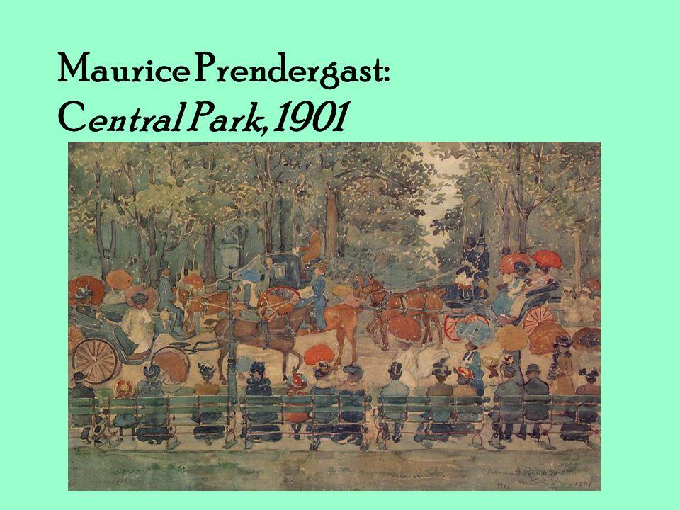 Maurice Prendergast: Central Park, 1901
