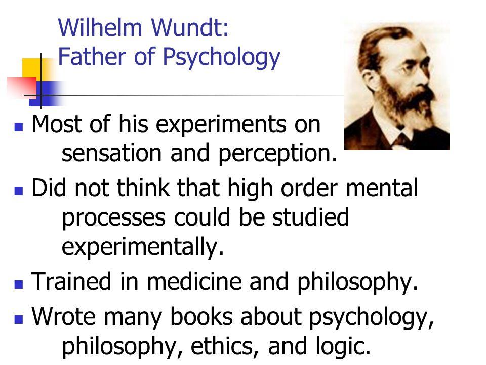 Wilhelm Wundt: Father of Psychology