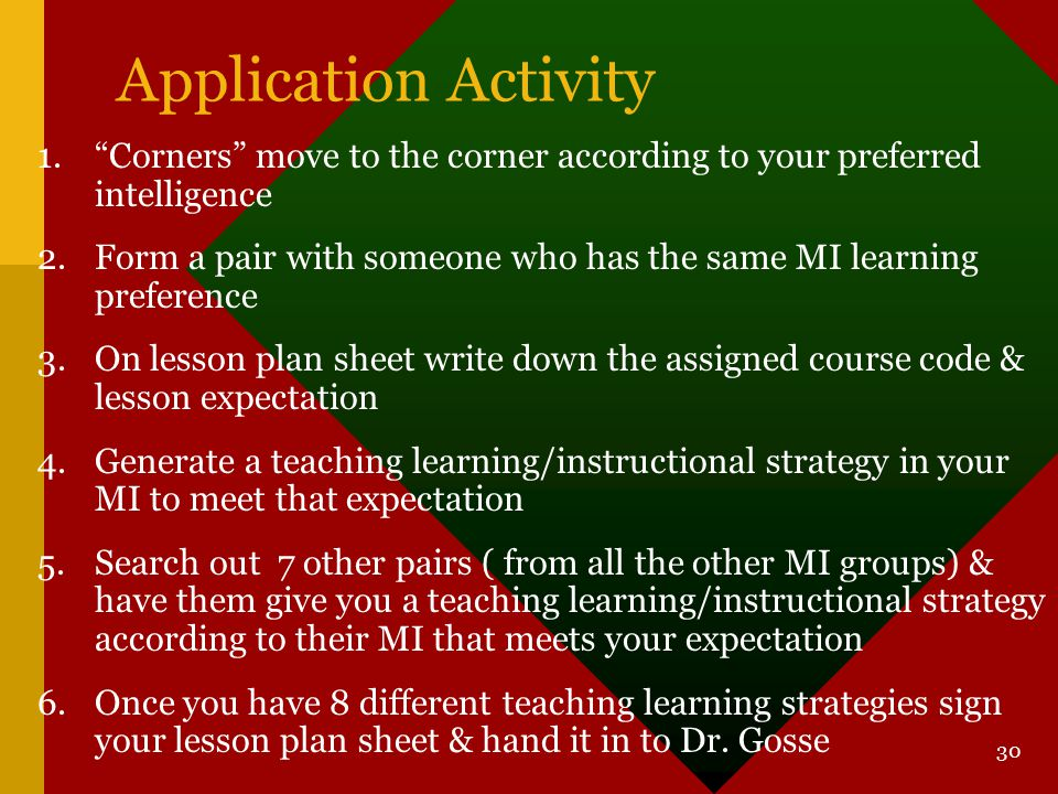 Application Activity Corners move to the corner according to your preferred intelligence.