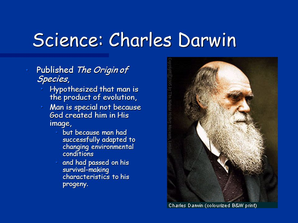 Science: Charles Darwin