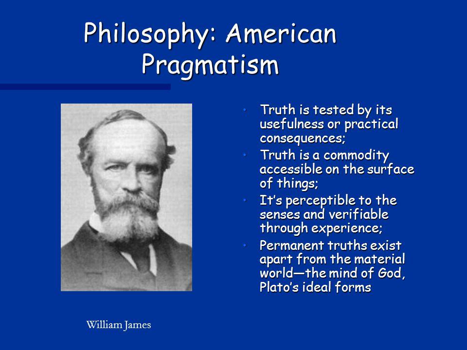 Philosophy: American Pragmatism