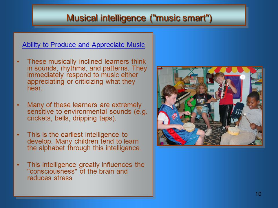 Musical intelligence ( music smart )