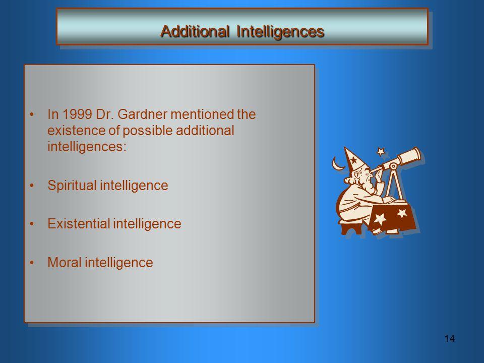 Additional Intelligences