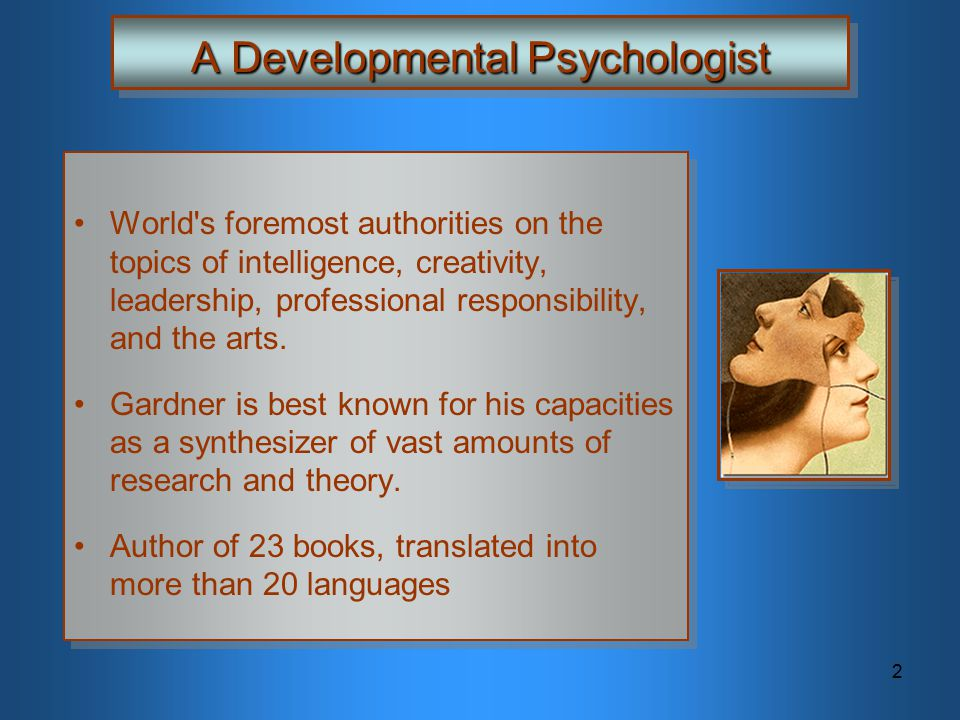 A Developmental Psychologist