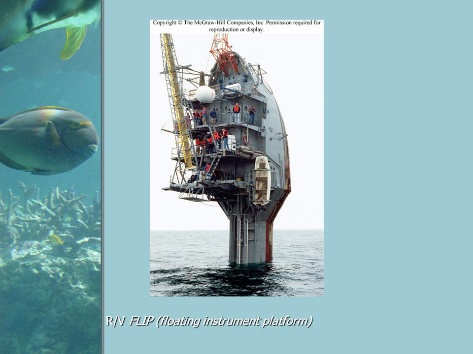 R/V FLIP (floating instrument platform)