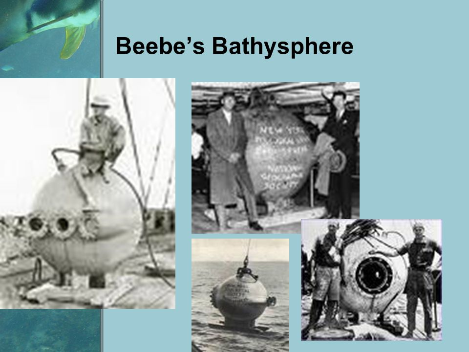 Beebe's Bathysphere