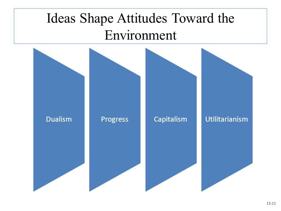 Ideas Shape Attitudes Toward the Environment