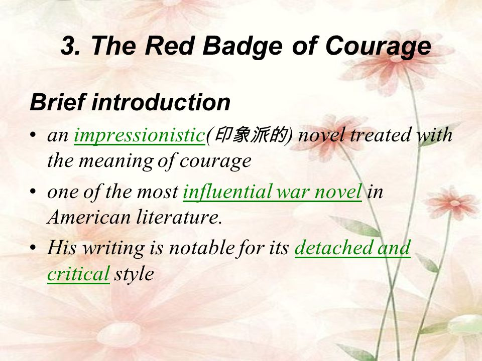 3. The Red Badge of Courage