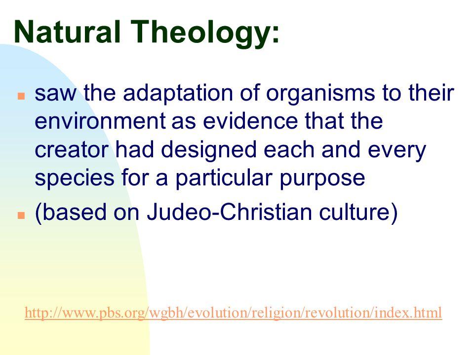 Natural Theology: