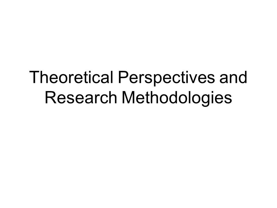 theoretical perspectives and research Theoretical, clinical, and research perspectives + list price: $1995 member/affiliate price: $1496 quantity: add to cart free shipping for individuals in the us.